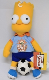 PELUCHE DISNEY SIMPSONS -  BART - 30 cm