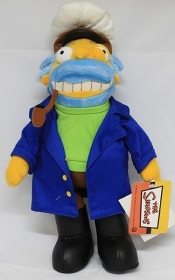 PLUSH DISNEY the SIMPSONS - CAPTAIN MCALLISTER - 35 cm