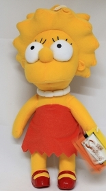 PLUSH DISNEY SIMPSONS - LISA - 34 cm