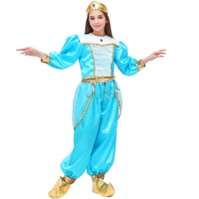 DRESS COSTUME CARNIVAL Mask girl - JASMINE