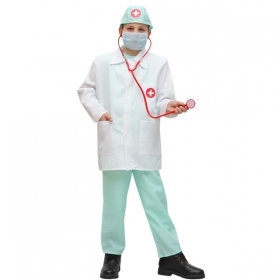 DRESS COSTUME CARNIVAL Mask child - DOCTOR