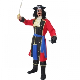 DRESS COSTUME CARNIVAL Mask Adult CAPTAIN HOOK