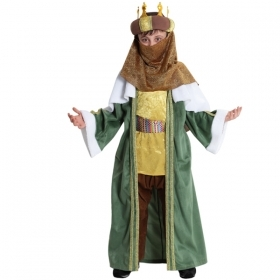 DRESS COSTUME Mask CHRISTMAS - the MAGI - BALTHASAR child