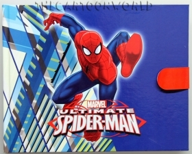 SECRET DIARY with hook and loop closure MARVEL - SPIDERMAN