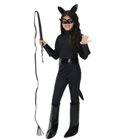 DRESS COSTUME CARNIVAL Mask girl - CATWOMAN