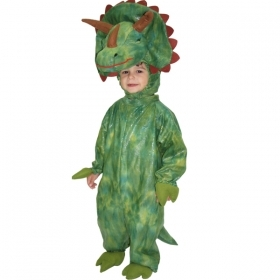 DRESS COSTUME Mask CARNIVAL BABY - DINOSAUR TRICERATOPS