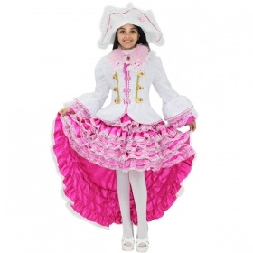 DRESS COSTUME CARNIVAL Mask Girl - ANGELICA