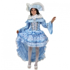 DRESS COSTUME CARNIVAL Mask Girl - LADY OF VENICE