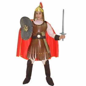 DRESS COSTUME CARNIVAL Mask child - Soldier Roman CENTURION