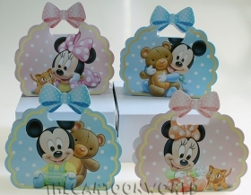 CANDY box DISNEY Box CASE door confetti MICKEY mouse - MINNIE