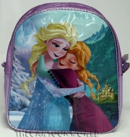 BACKPACK Holdall School DISNEY FROZEN ELSA and ANNA Folder Asylum