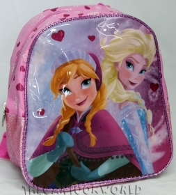BACKPACK Holdall School DISNEY FROZEN ELSA and ANNA Folder Asylum b