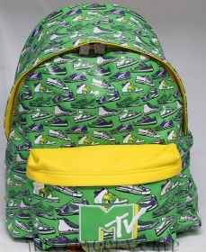 The BACKPACK Folder and School and Leisure-MTV - green