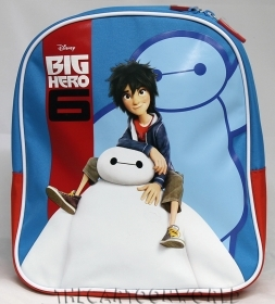 BACKPACK Rucksack Folder Nursery School, DISNEY BIG HERO 6