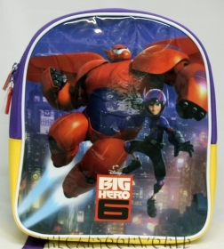 BACKPACK Rucksack Folder Nursery School, DISNEY BIG HERO 6 Disney