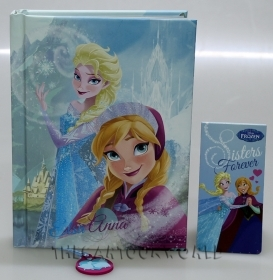 DIARY CALENDAR SCHOOL DISNEY FROZEN ELSA and ANNA - 12 Months