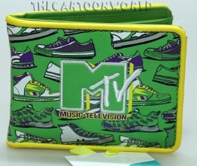 Wallet coin Purse MTV - with B