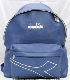 The BACKPACK Folder in Faux leather - School and Leisure DIADORA Blue