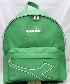 The BACKPACK Folder in Faux leather - School and Leisure DIADORA Green