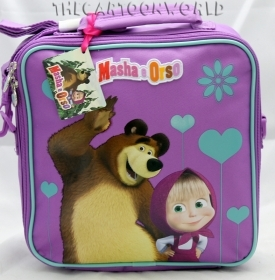 Shoulder BAG THERMAL DISNEY MASHA and the BEAR