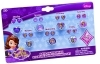 GREAT SET - 7 Pairs of earring Stickers and 7 Rings, DISNEY Princess SOFIA