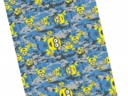 LINEN PLAID FLEECE BLANKET DISNEY MINIONS MINION Despicable ME 100x150 cm