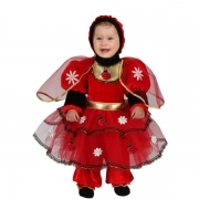 DRESS COSTUME CARNIVAL Mask NEWBORN - LADYBUG