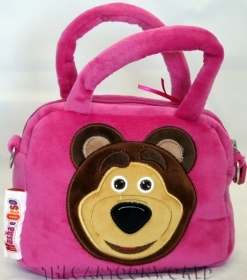 FANTASTIC HANDBAG toy and a duffle bag with shoulder Strap DISNEY MASHA and the BEAR b
