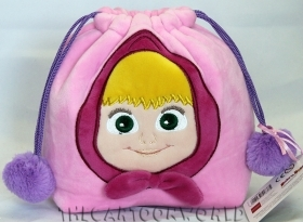 FANTASTIC BAG PLUSH toy DISNEY MASHA and BEAR