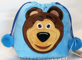 FANTASTIC BAG PLUSH toy DISNEY MASHA and the BEAR b