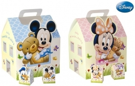 CANDY box, DISNEY pencil CASE door confetti, MICKEY mouse and DONALD duck - MINNIE and DAISY c