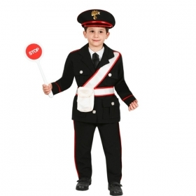 DRESS COSTUME Mask CARNIVAL baby - POLICEMAN