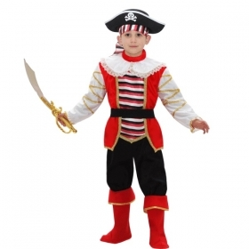 DRESS COSTUME Mask CARNIVAL baby - LITTLE PIRATE