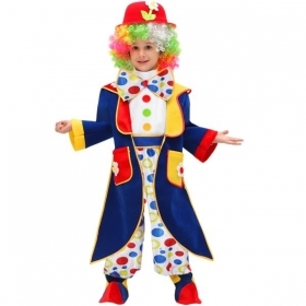 DRESS COSTUME CARNIVAL Mask baby the CLOWN - CLOWN