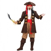 DRESS COSTUME Mask CARNIVAL kid - CAPTAIN JACK