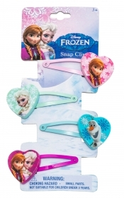 HAIR FERMATRECCINE CLIP-on 4-piece DISNEY FROZEN Elsa and Anna
