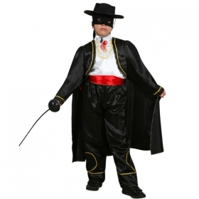 DRESS COSTUME Mask CARNIVAL kid - Zorro, the AVENGER