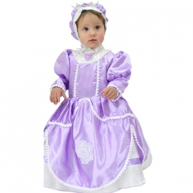 DRESS COSTUME CARNIVAL Mask NEWBORN - Princess SOFIA