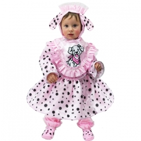 DRESS COSTUME CARNIVAL Mask NEWBORN - DALMATIAN - CHARGE 101