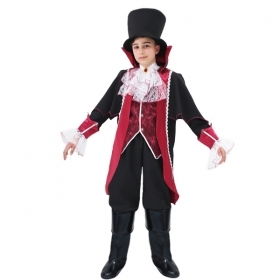 DRESS COSTUME CARNIVAL Mask child - COUNT DRACULA
