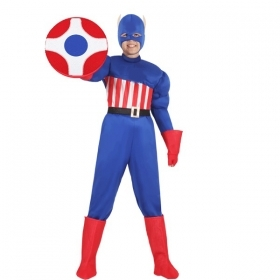 DRESS COSTUME Mask CARNIVAL kid - AMERICA