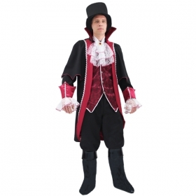 DRESS COSTUME CARNIVAL Mask ADULT - COUNT DRACULA