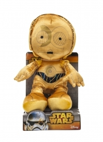 PLUSH DISNEY - STAR WARS - C-3PO 30 cm