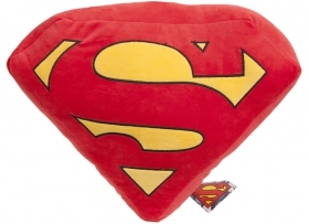 CUSCINO IN PELUCHE SUPERMAN - 45 x 34 cm