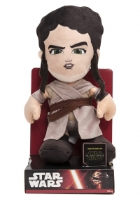 PLUSH DISNEY - STAR WARS - REY 30 cm