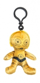 Keychain PLUSH DISNEY - STAR WARS - C-3PO 10 cm
