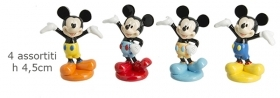 CANDY box in Glossy RESIN DISNEY MICKEY mouse MICKEY - Size 4,5 Cm