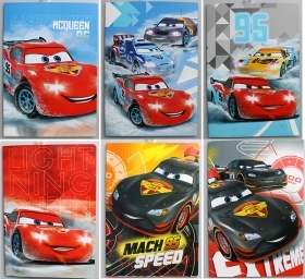 5 Quadernoni Notebooks and maxi/4 Disney CARS - Lining B - 3 elementary