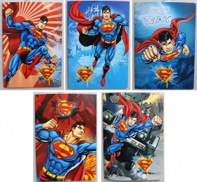 5 Quadernoni Notebooks and maxi/4 Disney SUPERMAN Lining Q - elementary