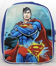 BACKPACK Rucksack Folder Kindergarten School - SUPERMAN